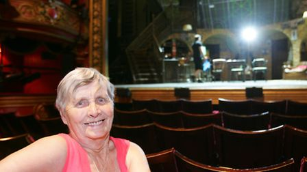 Lilly Cashman returns to the theatre royal in Stratford on her 80th birthday