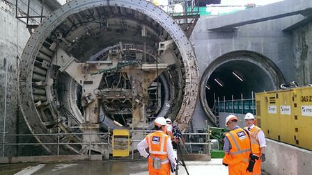 The new Thames Tunnel in North Woolwich