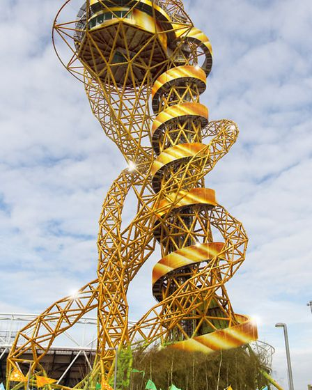 The Orbit will be transformed into a tower of gold