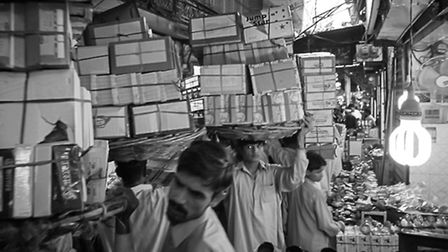 The hustle and bustle of Lahore. Picture: William Titley