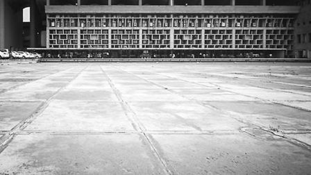 A photo of the Chandigarh court house. Picture: William Titley