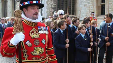 A yeoman warder in state uniform. Picture: Tower of London.