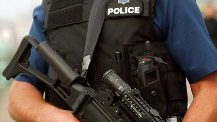 Firearms officers attended the attack. Picture: PA/Chris Ison