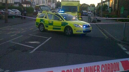 Chris Smith, from Ardleigh Green Road, Hornchurch, said the teenager was 'very lucky' not to be kill
