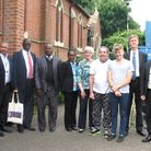 East Ham MP Stephen Timms hosted a visit by a group of Commonwealth parliamentarians to the borough