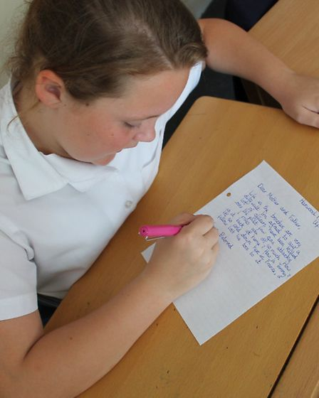 Morgan Snyman writes to her parents from the trenches