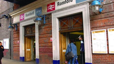 There has been a fatality in Romford