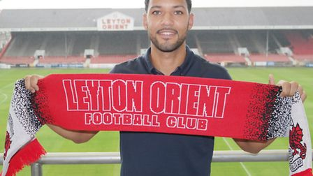 Jobi McAnuff has signed a two-year deal with Leyton Orient. Pic: Leyton Orient FC