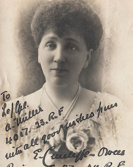 Mrs E. Cunliffe-Owen, who founded the battalion. [Picture: Havering Museum]