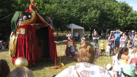 Theatre at the Music in Wanstead Park 2014 event. Picture: Alan James
