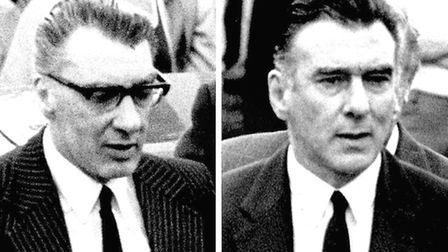 Composite picture of the Kray twins Ronnie (left) and Reggie (Picture: PA)