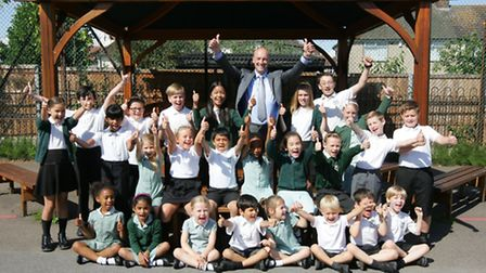 Benhurst Primary School, in Hornchurch, has been giving a great Ofsted report.