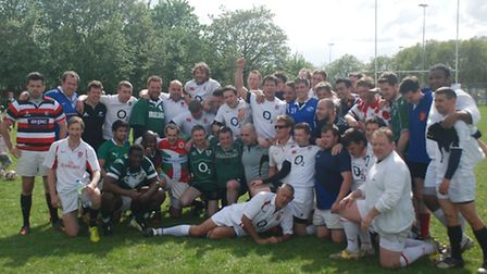 Players from the East London Rugby Club helped raise vital funds for the children's hospice in Beckt