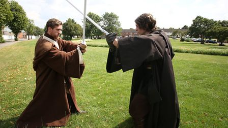 Iconic Legion hosted a Star Wars convention at Harold Hill Community Centre in Romford.