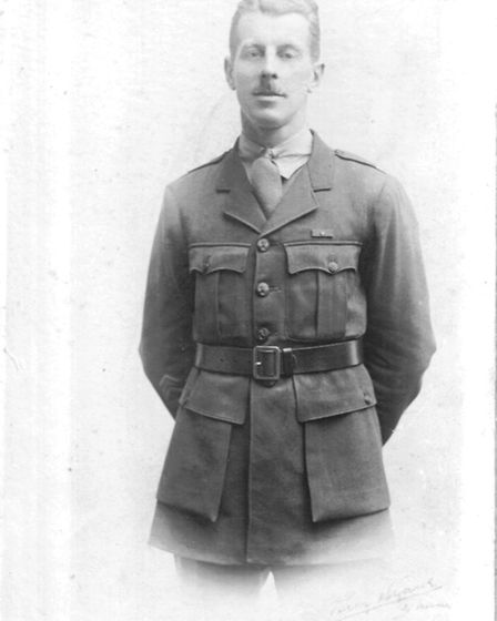 Sergeant Alfred Knight who won the Post Office Rifle's only Victoria Cross