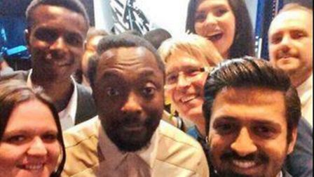 Selfie with the students. Picture: Wow! Marketing