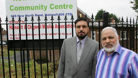 New North Road, Community Centre - Dr Sohail Hameed (left) and Mr Arshad Khan.