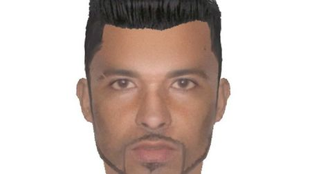 Police e-fit of a man officers wish to speak to