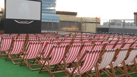 The cinema at Roof East