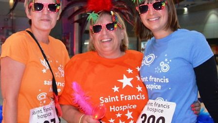 New to the Star Walk were Pauline Emberson, from Ingatestone and her daughters Amanda and Michelle.