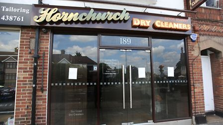 Hornchurch Dry Cleaners on Station Lane was torched in a fire that the owner believes was started by