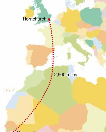 From Hornchurch to Guinnea-Bissau