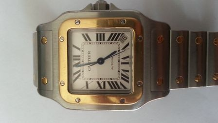 Cartier watch suspected stolen from Brentwood