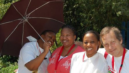 South African High Commission volunteers