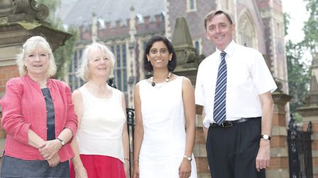 Polly Toynbee, Professor Anne Power from the London School of Economics, Vidhya Alakeson from the Re