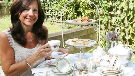 Beverley Ezekiel from Loughton has started her own business hiring out her collection of fine china