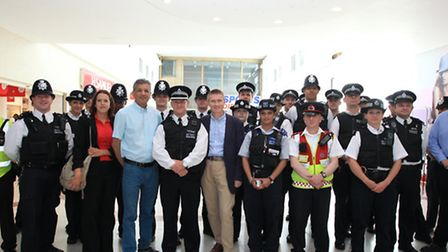 Launch of the Operation Western Promise operation in Stratford.