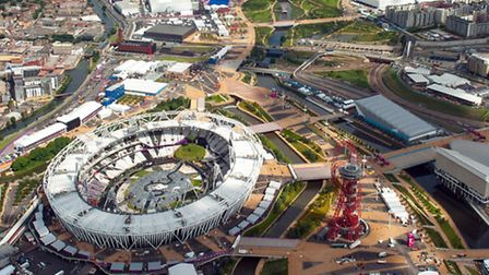 Olympicopolis competition launched. Picture: Press Association.