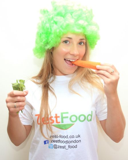 Graduate Kelly McCarthy is launching a healthy food company called Zest Food.