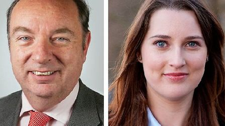 Norman Baker and Emma Carr