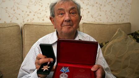 Mr Ernest Hull from Hornchurch has been awarded a russian medal for his part in WW2.