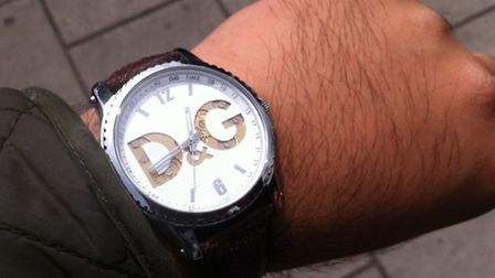 A quick glance at my watch.