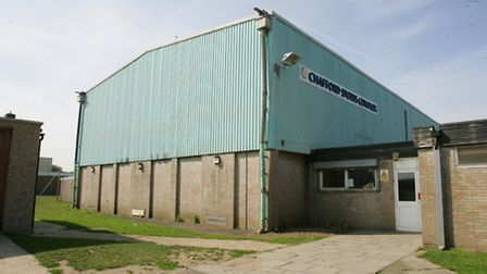 The pool at Chafford Sports Complex would go under plans to redevelop the 60-year-old Chafford Schoo