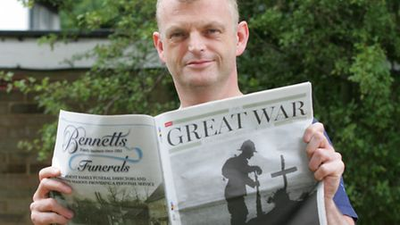 Stuart Forster had family on both sides during the first world war