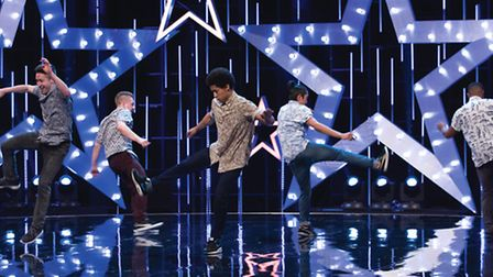 Boyband appearing in their audition on Got to Dance series five.