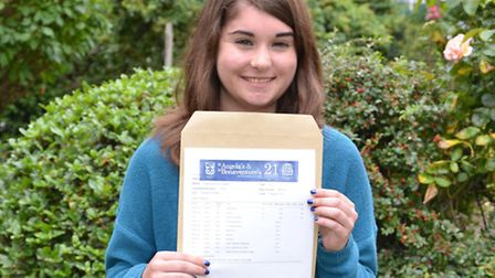 Caroline Casey is going to Cambridge to read Natural Sciences (Pic: Jennifer Wilkinson)