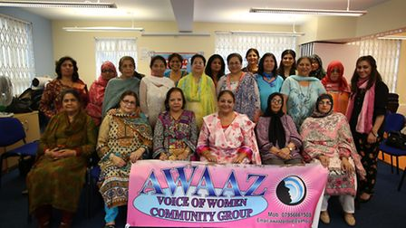 Awaaz in their new premises at the Loxford Children's Centre, Ilford Lane