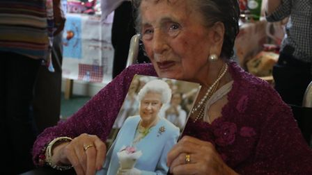 Hornchurch Nursing Centre held a 100th birthday party for Ivy Matthews as well as a vintage tea part