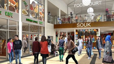 CGI of East Shopping Centre