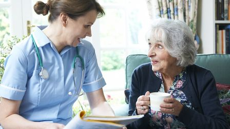 A Telegraph article suggested it would be women who would have to care for the elderly as unless EU