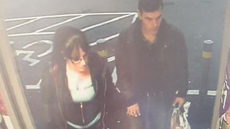 Police wish to speak to the pair in connection with an assault. Picture: Havering Police