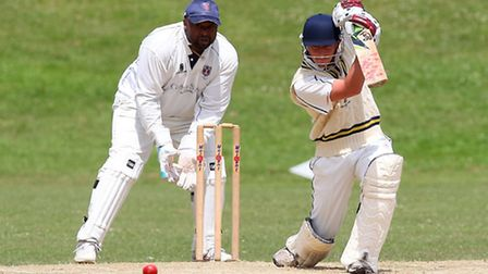 Alex Cason impressed with the bat for Ardleigh Green against Hutton (pic: Gavin Ellis/TGSPHOTO)
