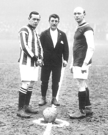 A FA Cup second round replay against West Brom in 1913