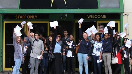 London Academy of Excellence students celebrate their results