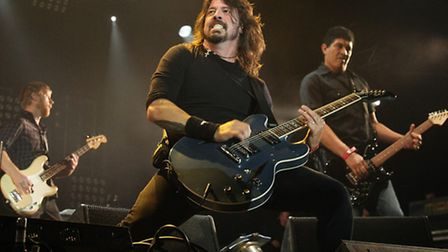 American rockers the Foo Fighters are set to headling the Invictus Games closing concert. Pic: Yui M