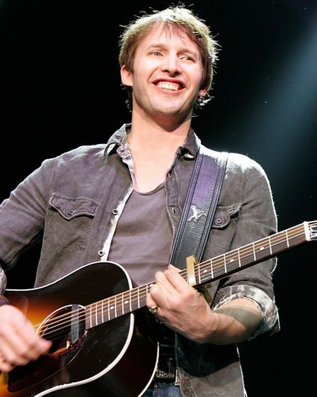 Former army captain James Blunt will perform at the Invictus Games closing ceremony. Pic: Suzan/PA W